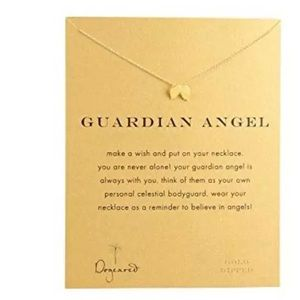 GOLD DIPPED MINIMALIST GUARDIAN ANGEL WING